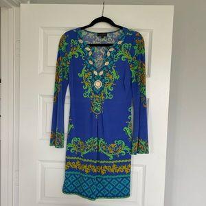 Hale Bob dress gorgeous colors like NEW
